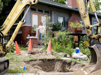 Ypsilanti Resident Stops Construction Crews From
