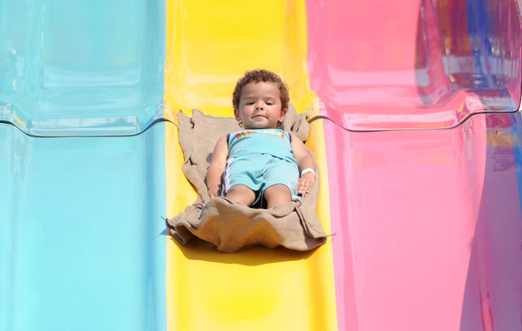 Images from lake shore apartments 39 community event - The giant slide apartament ...