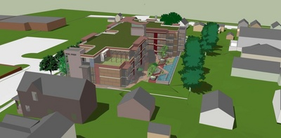 Near_North_Perspective color rendering of building in context viewed from southeast looking south.jpg