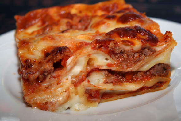 Lasagne Bolognese is the less cheesy cousin of the typical American ...