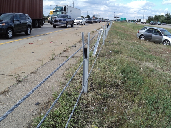 New cable median barriers to improve safety on washtenaw