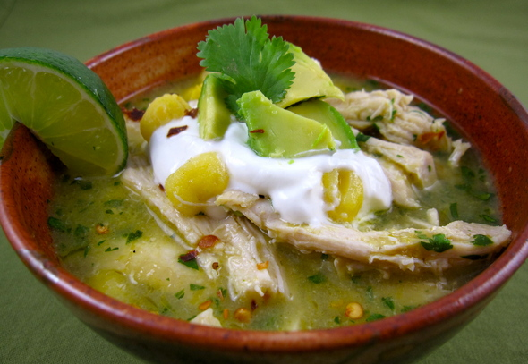 Chicken Pozole Pozole (a quick version of a