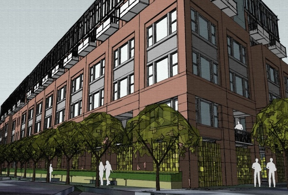 Plans Rendering Revealed For 6 Story Apartment Building Proposed