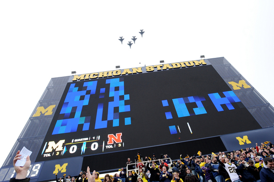 Will Michigan Stadium power outage affect Michigan-Ohio State game