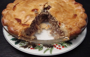 Share a French Canadian tradition and make pork pie for Christmas Eve