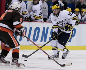 CCHA: Chris Brown Leaves Michigan For NHL Deal, Red Berenson 'disappointed' In Decision