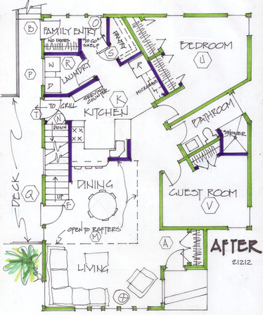 Adding Function To A House With A 1970s Angled Floor Plan