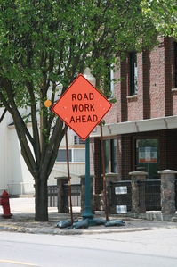 Chelsea-road-work-ahead-sign.JPG