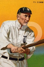 Ty Cobb making history catch up to him