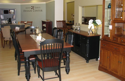 Beau The Interior Of Amish Tables New Showroom And Design Center In Plymouth MI.