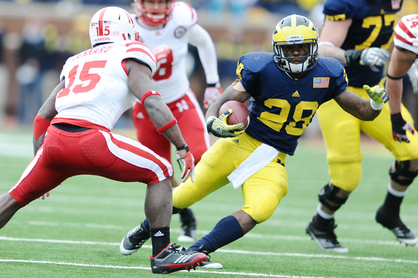 The status of suspended Michigan football players Fitz Toussaint and Frank ...