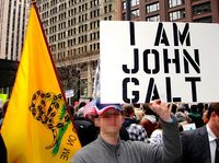 0820 Ayn Rand slogan Who Is John Galt in Teaparty protest.jpg