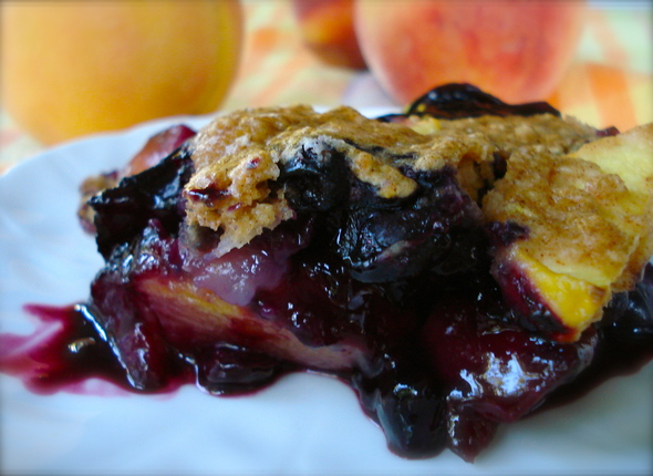 VBG-September-2012-Vegan-Baked-Blueberry-and-Peach-Crumble