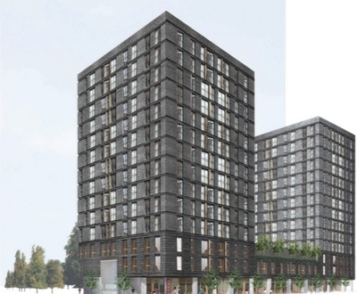 Two 14 Story High Rise Apartment Buildings Proposed For Downtown Ann Arbor