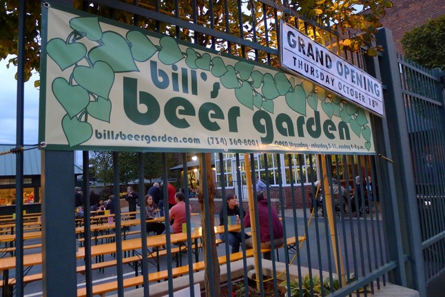 The week in beer news and brews for your autumn in ann arbor for Ann arbor beer garden