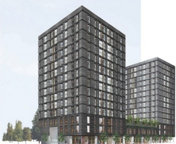 oppose 14-story high-rise proposed for East Huron Street in Ann Arbor