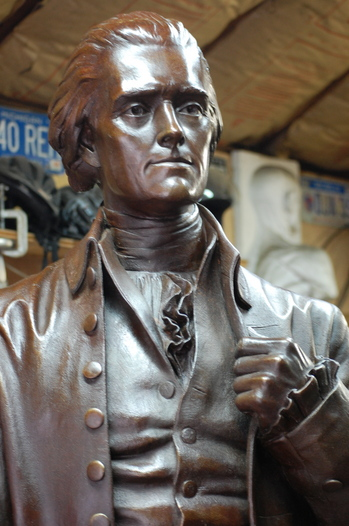 Thomas Jefferson by Saline artist Anthony Frudakis.JPG