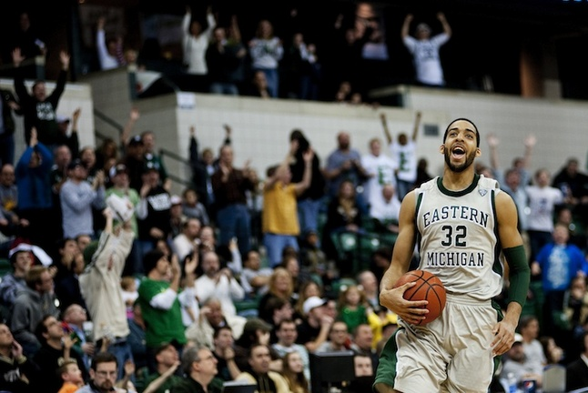 Eastern Michigan basketball tops Purdue, 47-44, for first ...