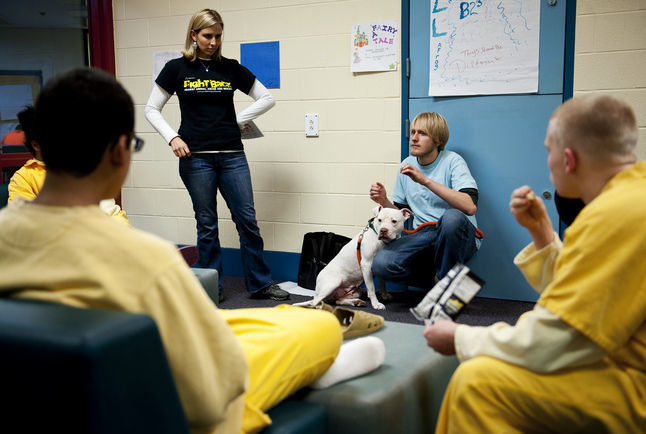 Humane Society program works with juvenile detention center to stop ...