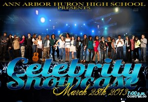 Huron High Celebrity Showcase