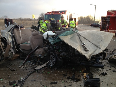 First on the scene of a serious crash? Here\'s what you should do