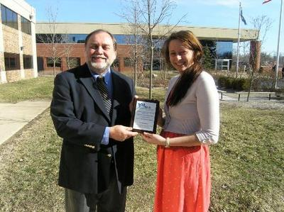 2013 Healthy Workplace Award to Growing Hope - Casey Van Nest, Operations ManagerPhotos 001.jpg