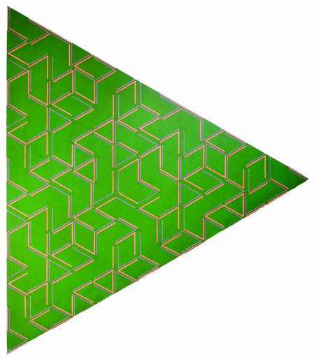 John Egner, untitled (green triangle).jpg
