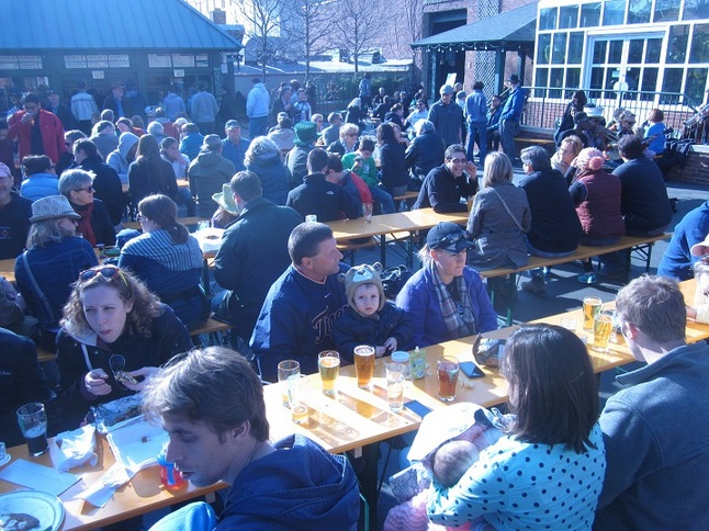 Is ann arbor beer city usa for Ann arbor beer garden