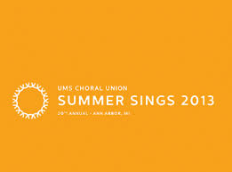 UMS Summer sings