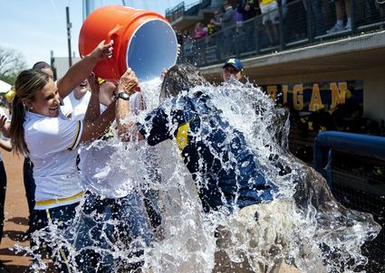 hutch-water-bucket-michigan-softball.JPG