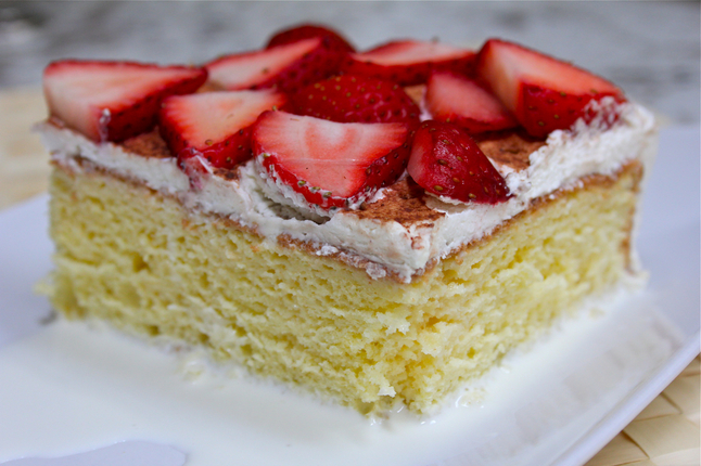 Tres Leches Tres leches cakes, made with