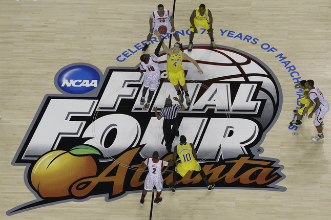 NCAA Final Four Michigan Louisville Basketball.JPG