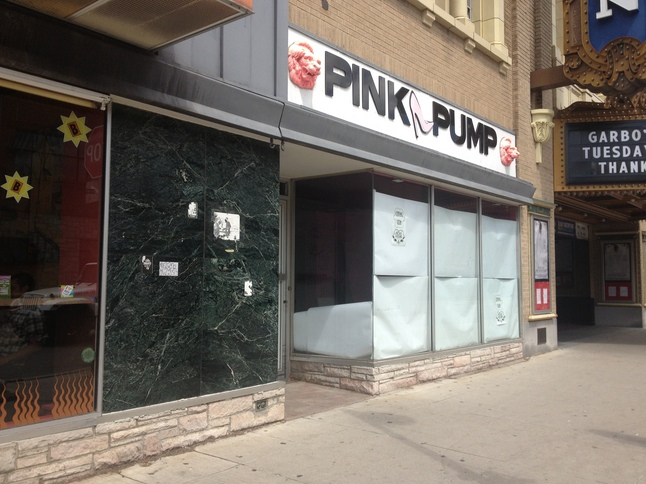 Above ground hair studio to move into former pink pump for Above ground salon