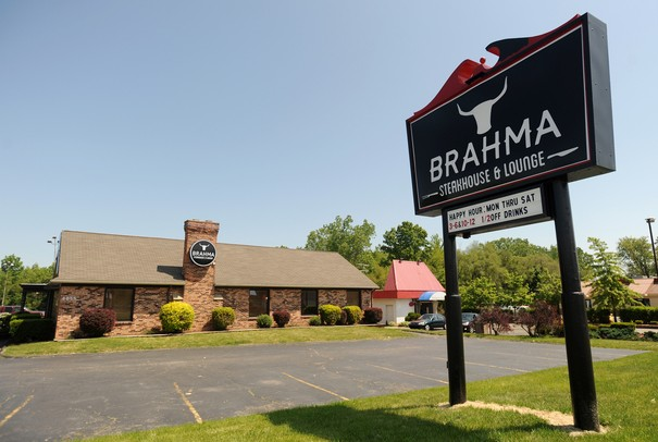 Outside of Brahma Steakhouse on Washtenaw Ave. Angela J. Cesere | AnnArbor.com