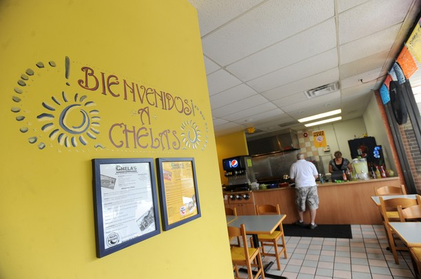 Inside of Chela's restaurant and taqueria. Angela J. Cesere | AnnArbor.com