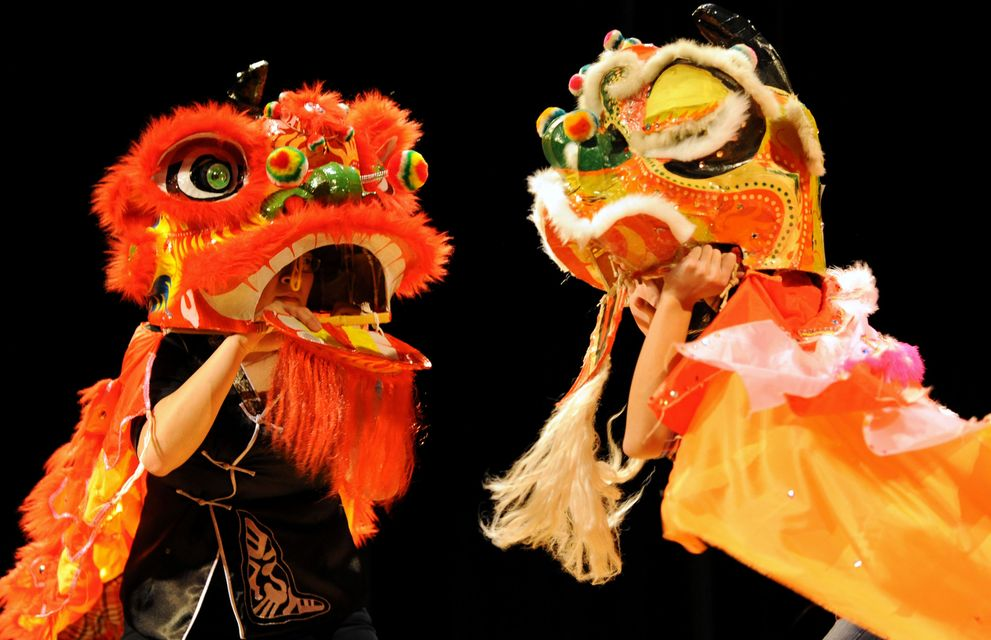 Images from the Chinese New Year celebration at WCC