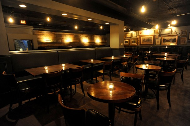 The inside of The Last Word, which recently opened in the space of the ...