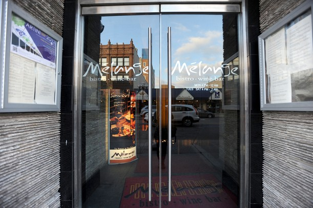 The entrance of Melange on Main St. in Ann Arbor. Angela J. Cesere | AnnArbor.com
