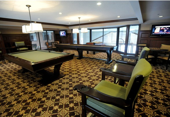 The Game Room Now Features A Pool Table, Table Top Shuffleboard, And  Foosball. Angela J. Cesere | AnnArbor.com ...