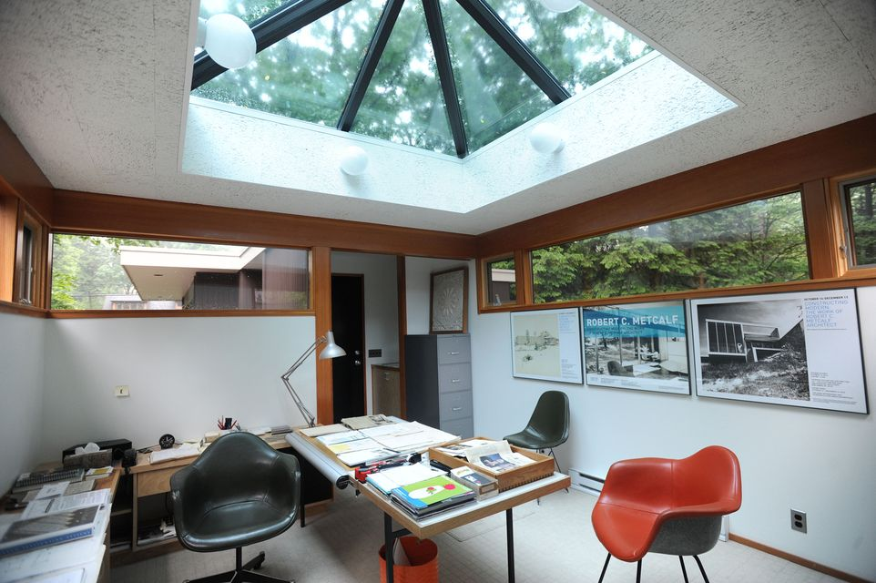 architect home office. inside the office of home designed by robert metcalf on arlington in ann arbor architect