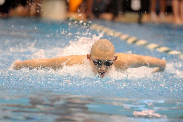 Images from the division 1 boys swimming and diving - University of michigan swimming pool ...