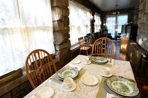 A dining space at the Stone Chalet Bed and Breakfast Inn, located at 1917 Washtenaw. Melanie Maxwell | AnnArbor.com