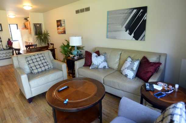 Family makes a home in University of Michigan\'s Northwood Apartments