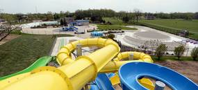 A new waterside feature, called Plunge Peak, includes two twisty slides and one long slide with an option for the park to add a fourth. Melanie Maxwell I AnnArbor.com