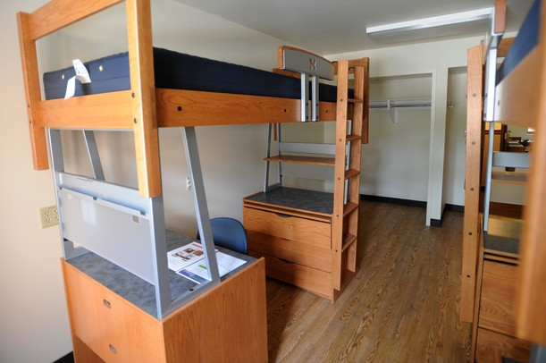 A Double Dorm Room Includes Modular Systems Like These That Are Made Up Of  A Desk, Dress And Bed That Can Be Turned Into A Loft. Part 50