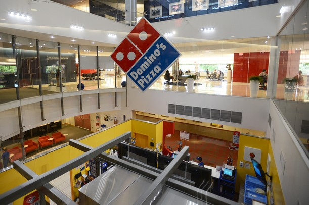 Dominos Kitchen domino's pizza renews its lease, plans to expand at ann arbor