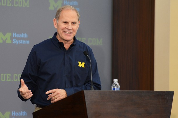 Michigan men's head basketball coach John Beilein addresses the media during a press conference at the Junge Family Champions Center on Wednesday. Melanie Maxwell I AnnArbor.com