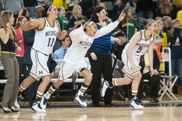 Images From The Michigan Women S Basketball Team S 70 69