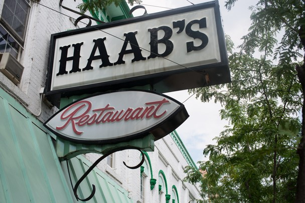 Haab's restaurant located at 18 West Michigan Ave in  Ypsilanti.