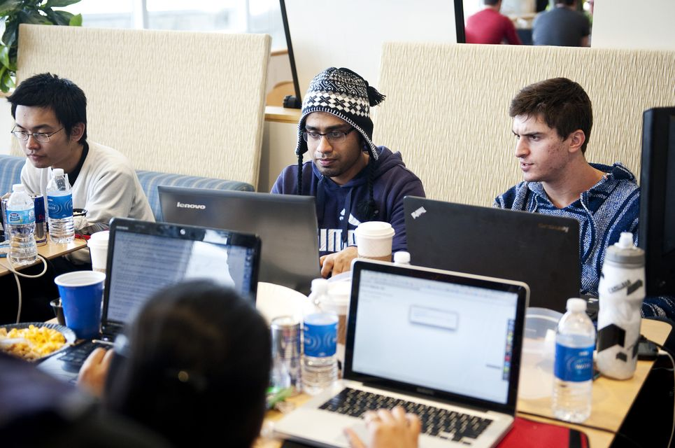 Students at Michigan hackathon develop wide range of websites and apps